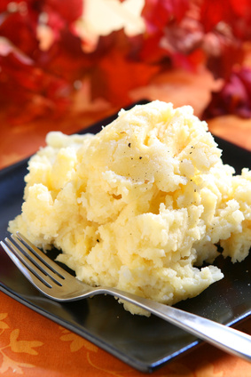 Healthy food doesn't have to be boring.  Cauliflower mashed potatoes are the ultimate comfort food