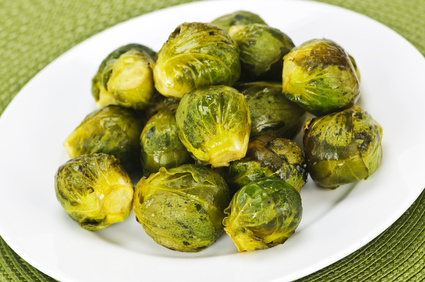 crunchy cruciferous brussel sprouts